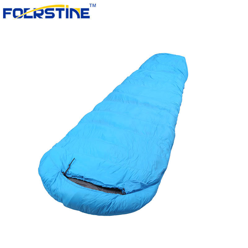 Down Sleeping Bag with Compression Sack Portable for 3-4 Season Camping FST-SB06