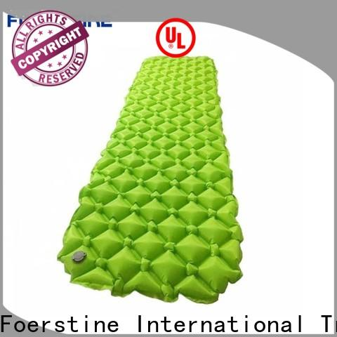 Foerstine Custom backpacking air pad for camping