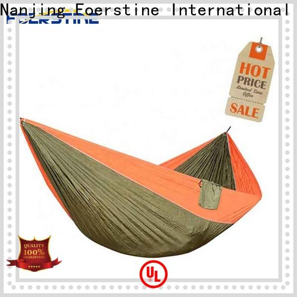 Foerstine Latest large hammock stand bulk production for outdoor leisure