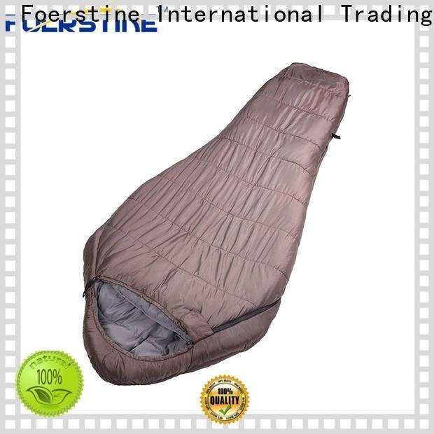 Foerstine Top childrens down sleeping bag bulk production for hiking