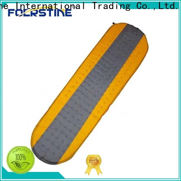 Foerstine Best blow up camping mat series for outdoor