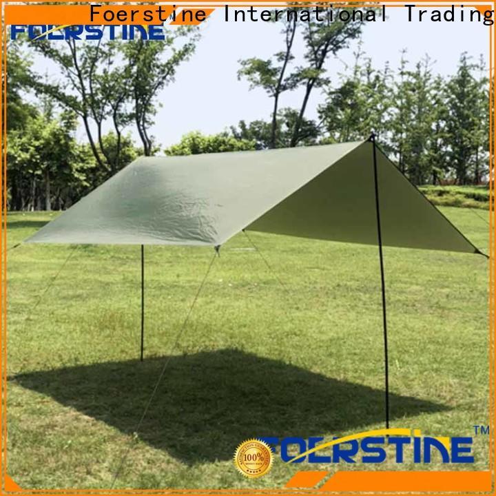Foerstine New tarp setup overseas market for outdoor