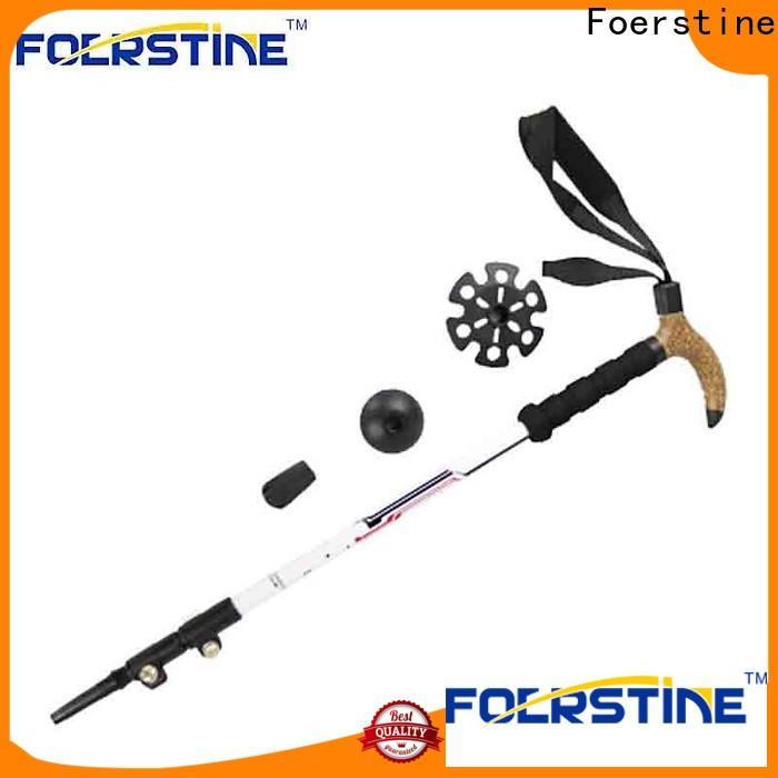 Foerstine Best winter trekking poles in different shape for outdoor