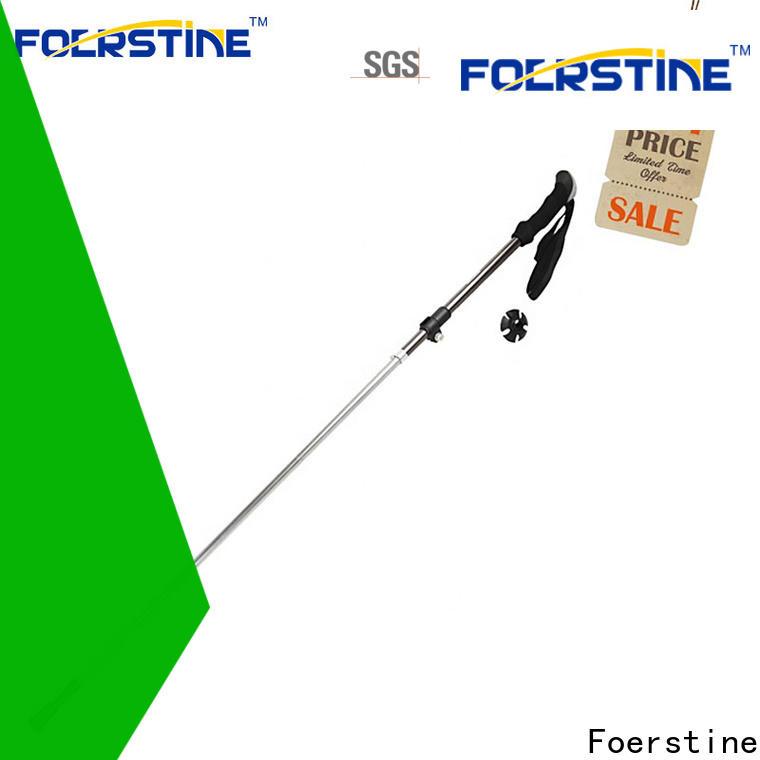 Foerstine stick metal hiking sticks for business for traveling