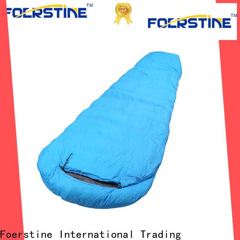Foerstine camping indoor sleeping bag dropshipping for traveling