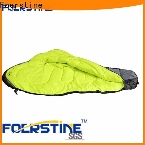 Foerstine bag camp sleep bag Suppliers for hiking
