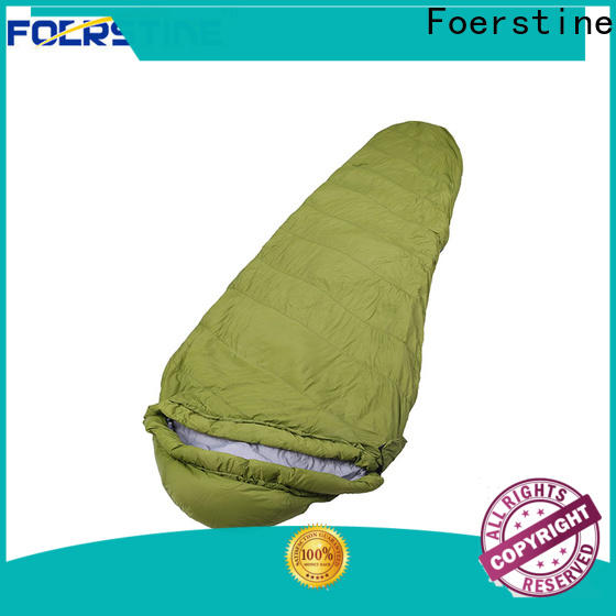 Foerstine bag low cost sleeping bags vendor for traveling