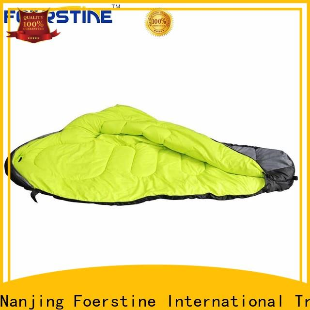 Foerstine soft kids orange sleeping bag dropshipping for outdoor