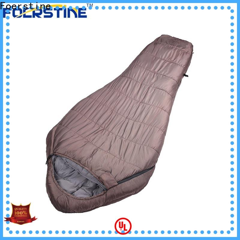 Foerstine Custom comfy sleeping bag vendor for hiking