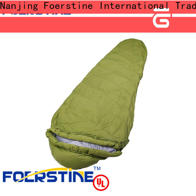 Foerstine backpacking shop sleeping bags overseas market for traveling
