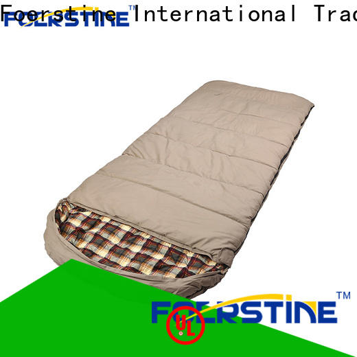 Foerstine soft new sleeping bag overseas market for hiking