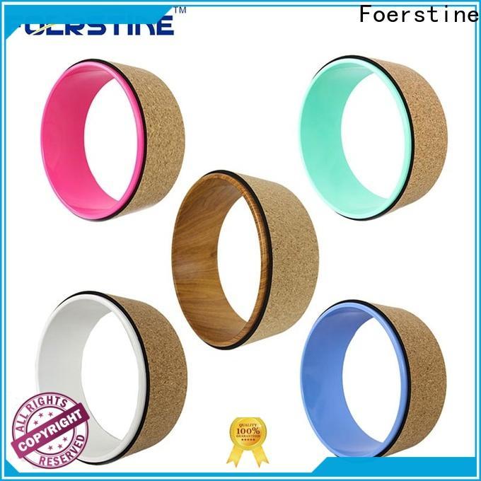 durable yogdev yoga wheel yw02 overseas market for exercise