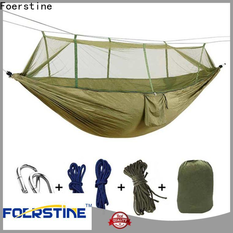 Foerstine Top hanging hammocks for sale Suppliers for outdoor leisure