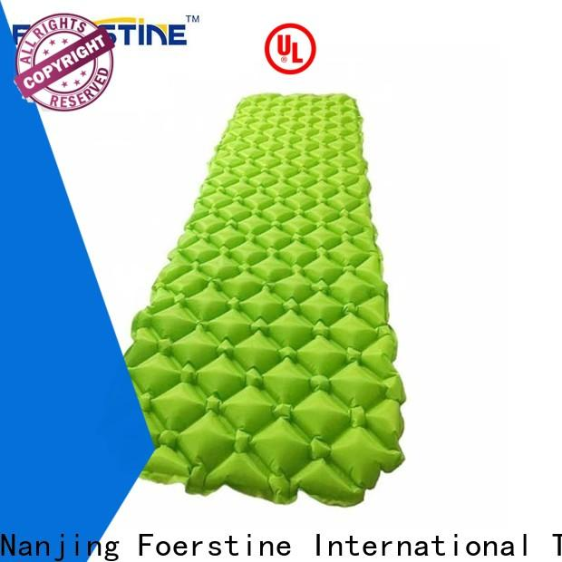 Foerstine mat insulated inflatable sleeping pad for outdoor