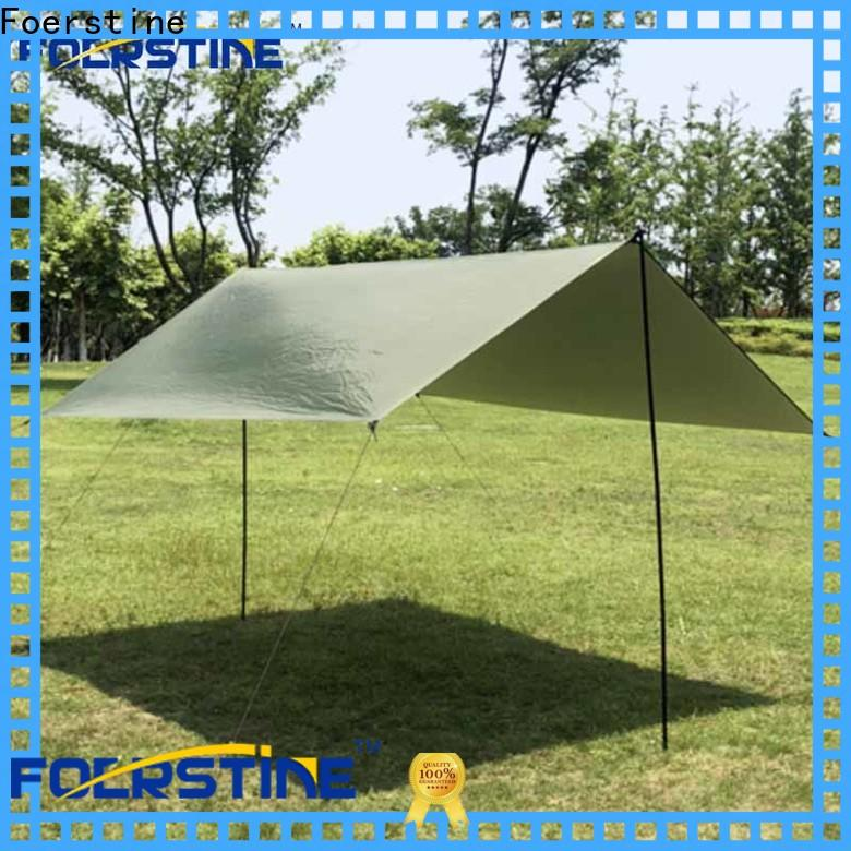 Foerstine rf01 tarp cabin for business for camping