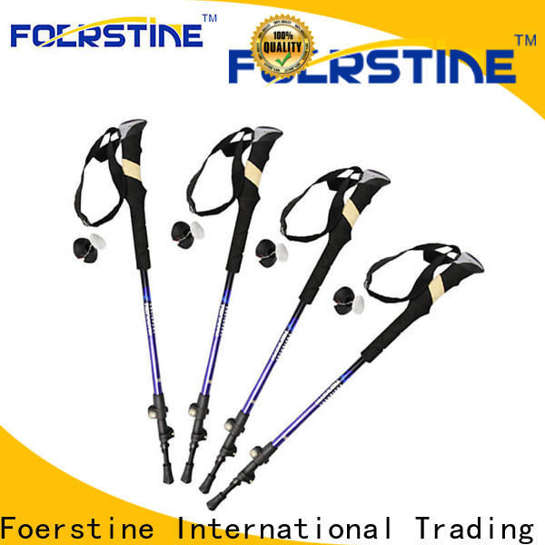 Foerstine good design wooden walking staff factory for traveling