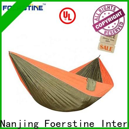 Foerstine durable duracord hammock for business for resting