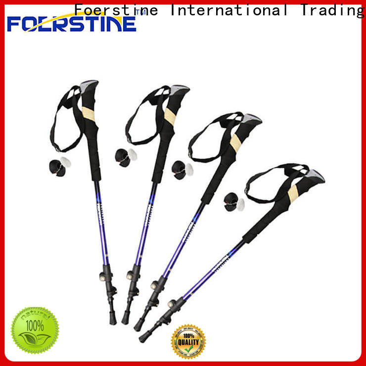 Custom fold up walking poles mountain for business for traveling