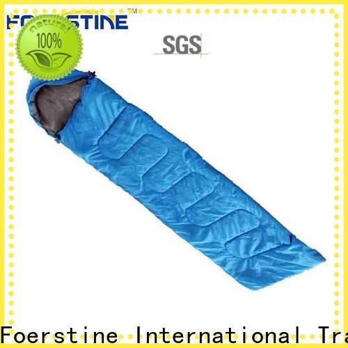 Wholesale green sleeping bag backpacking overseas market for outdoor