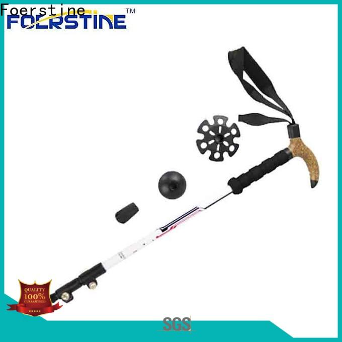 Foerstine high-quality diamond trekking pole manufacturers for traveling