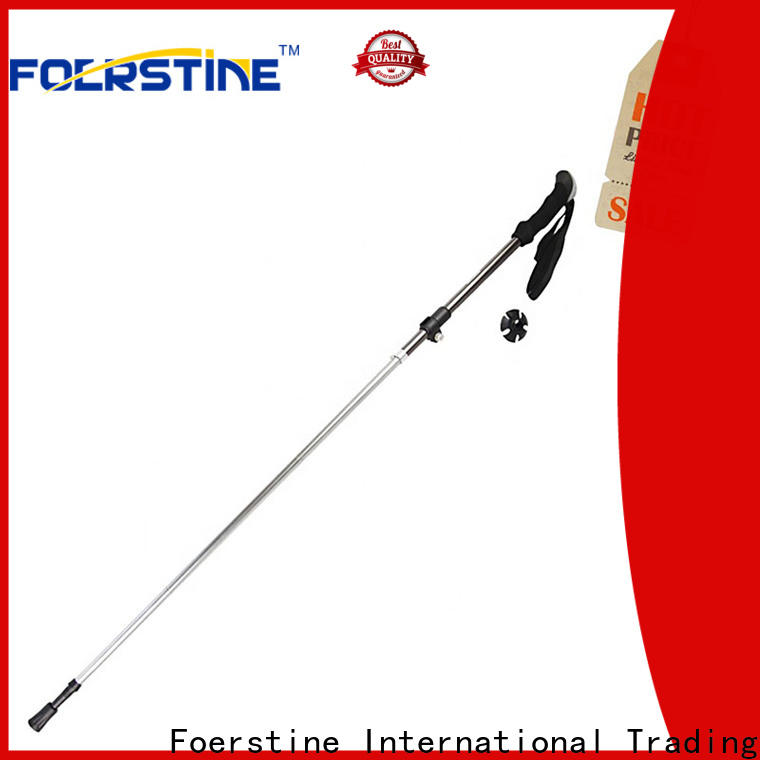 easy to hold fitting trekking poles walking bulk production for hiking