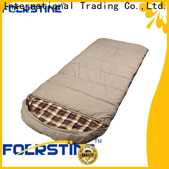 Foerstine camping silk sleeping bag dropshipping for camping