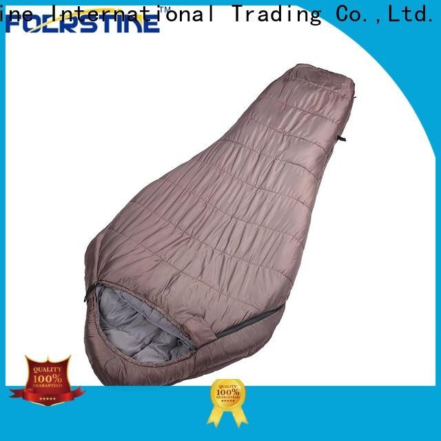 Foerstine High-quality fleece sleeping bag vendor for camping