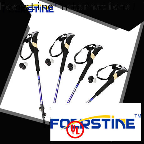 Foerstine comfortable foldable pole bulk production for hiking