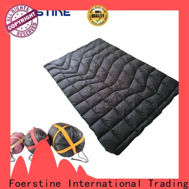 Foerstine inflatable ensolite pad for outdoor