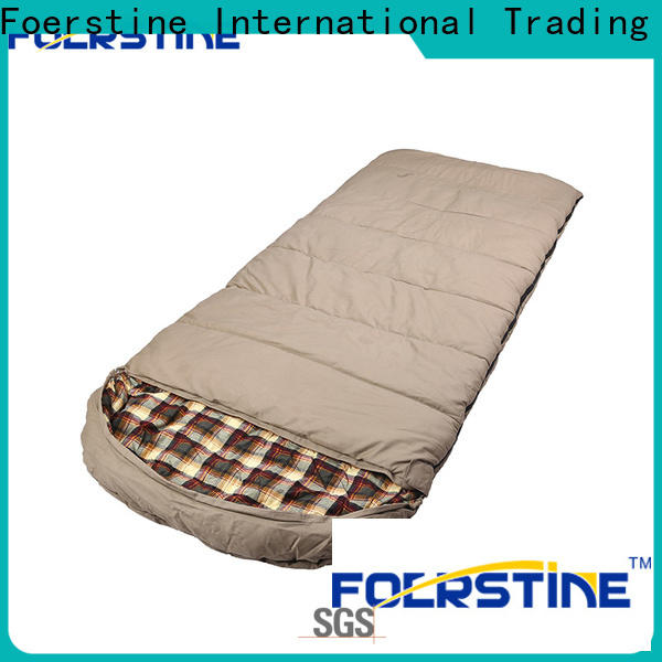 Foerstine moisture-proof warm sleeping bags for camping company for hiking