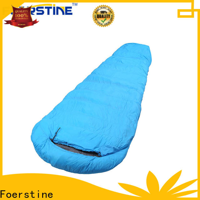 Foerstine sleeping full size sleeping bag Supply for hiking