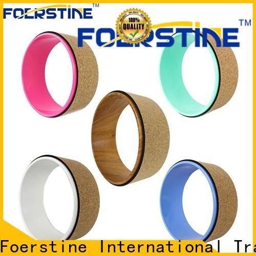Foerstine Wholesale upcircleseven yoga wheel Supply for indoor activities