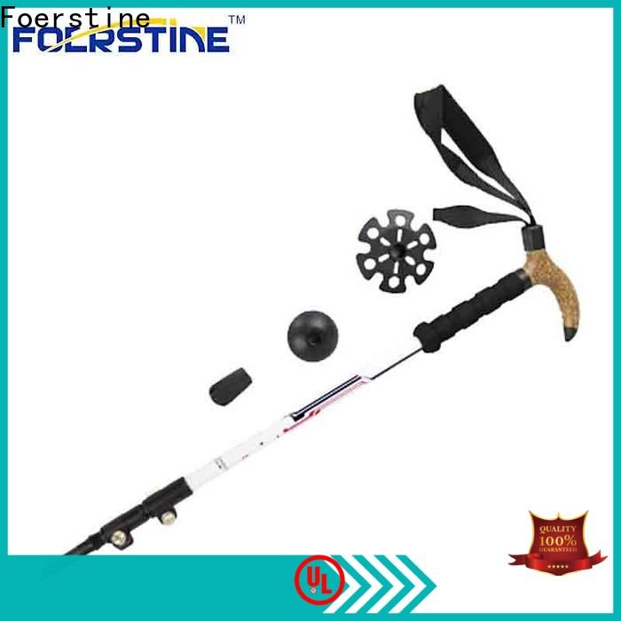 Wholesale telescoping hiking staff tp03 in different shape for outdoor