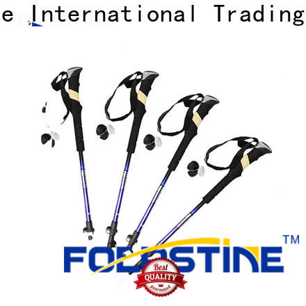 Foerstine durable tent style trekking pole supplier for outdoor
