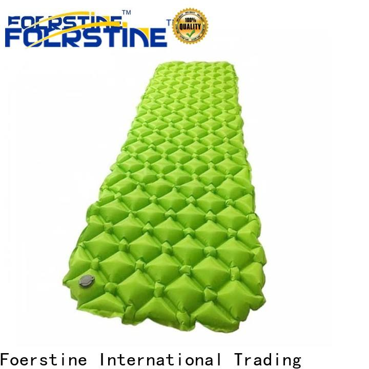 Foerstine inflatable insulated sleeping pad camping dropshipping for traveling