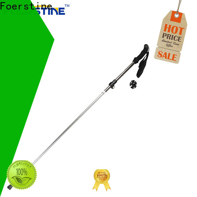 Foerstine Top mountain walking poles factory price for outdoor