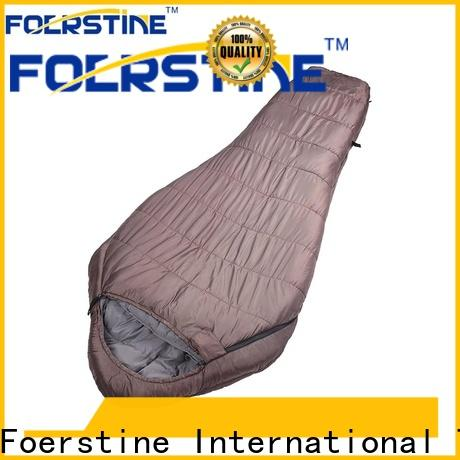 Foerstine bag inexpensive sleeping bags manufacturers for traveling