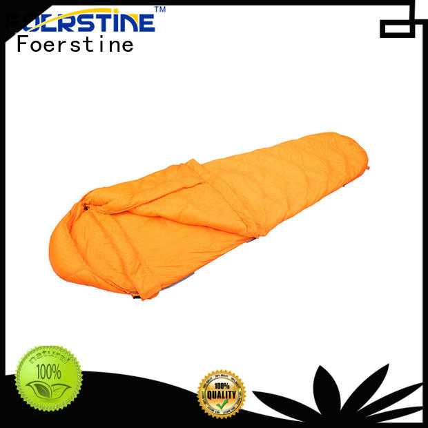 Foerstine warm compact sleeping bag vendor for hiking