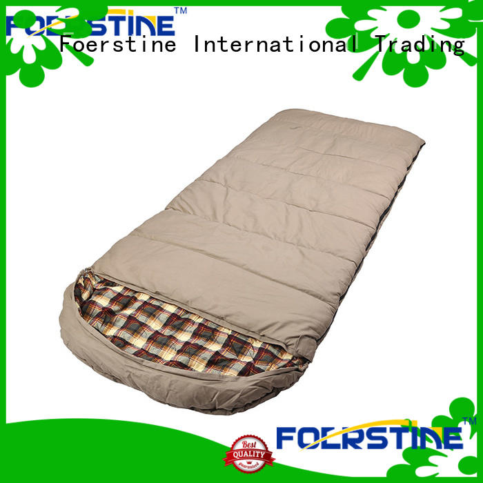 Foerstine portable good sleeping bags for camping for business for traveling