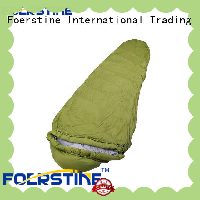 Foerstine sp01 compact sleeping bag overseas market for hiking