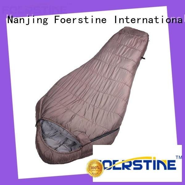Foerstine Best rectangular down sleeping bag wholesale for hiking