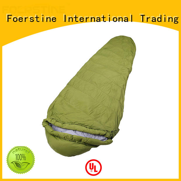 Foerstine sp01 cotton sleeping bags for adults overseas market for hiking