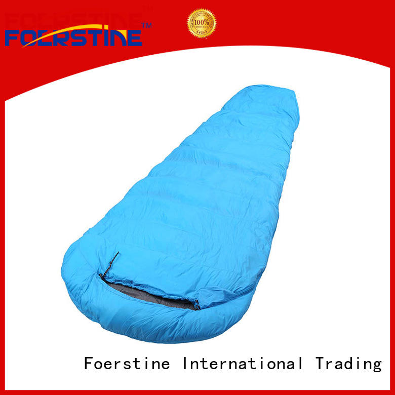 Foerstine sp03 4 season sleeping bag bulk production for backpacking