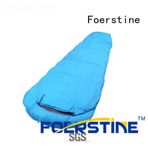 Foerstine compact backpacking sleeping bag vendor for hiking