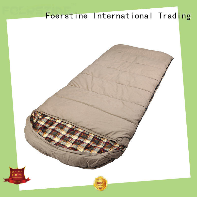 Foerstine comfortable camping sleeping bag vendor for hiking