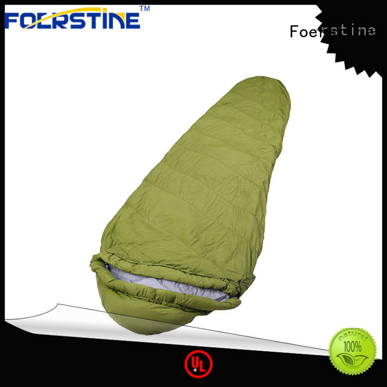 Foerstine High-quality sleeping bag storage factory for camping