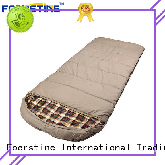 Foerstine bag mummy sleeping bag overseas market for backpacking