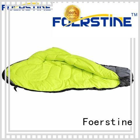 Foerstine warm backpacking sleeping bag for manufacturer for hiking