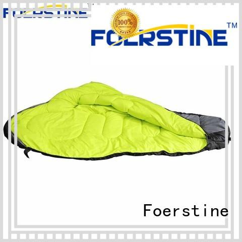 Foerstine warm backpacking sleeping bag for manufacturer for hiking