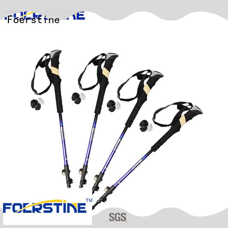Foerstine walking using trekking sticks supplier for outdoor